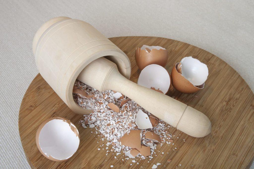 Измельченная скорлупа яиц