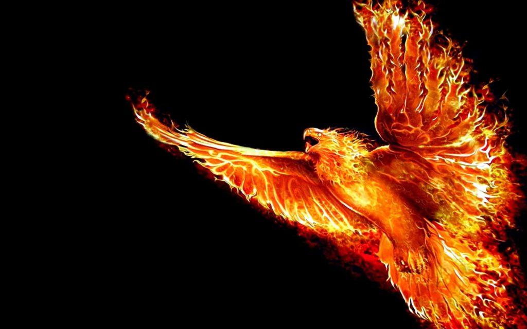 Легендарная птица Феникс