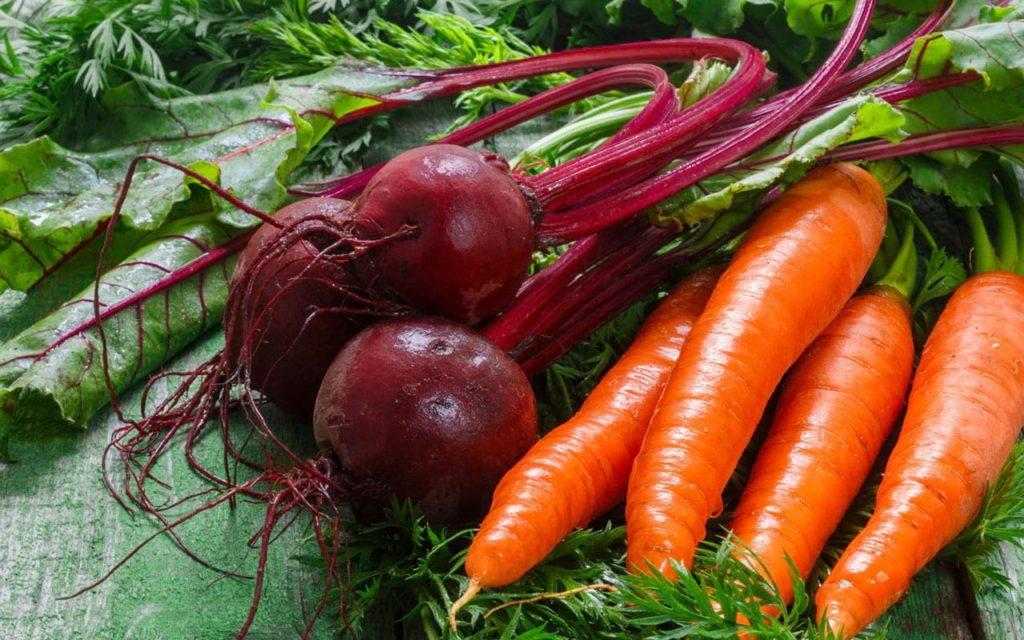 Свекла и морковь для птиц
