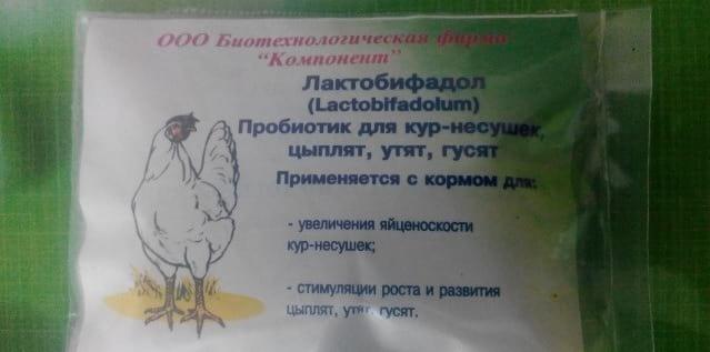 Лактобифадол для кур