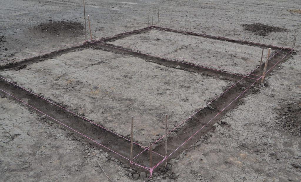 Разметка строительного участка
