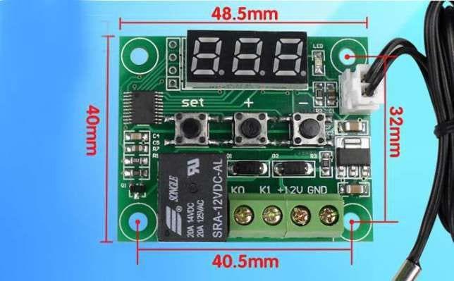размеры терморегулятора